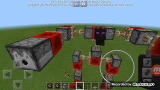 Minecraft ' ta modsuz robot nasıl yapılır???