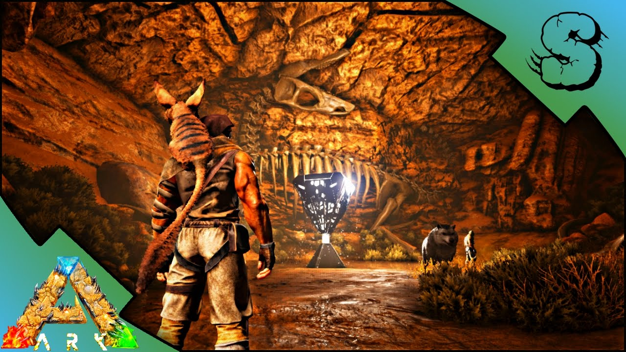 CAVE ADVENTURE! | ARTIFACT OF THE CRAG! | Ark: Scorched Earth [Gameplay E15]