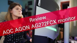 AOC AGON AG272FCX 144 Hz gaming monitor review