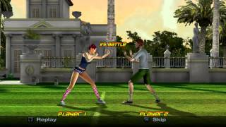 PCSX2 720p | Outlaw Tennis (Widescreen Patch) Gameplay