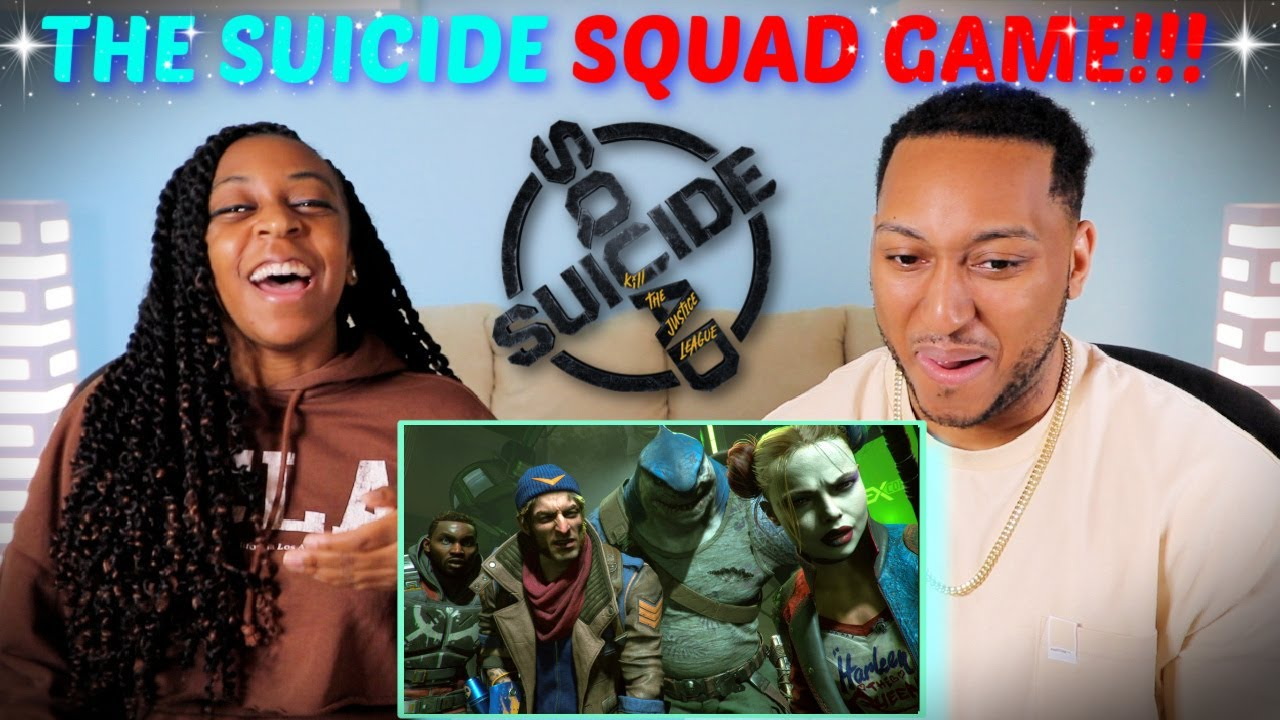 """""""Suicide Squad: Kill the Justice League"""" Official Story Trailer REACTION!!!"""