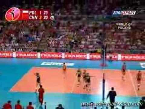 Poland vs China 2007 WGP  set4  part3
