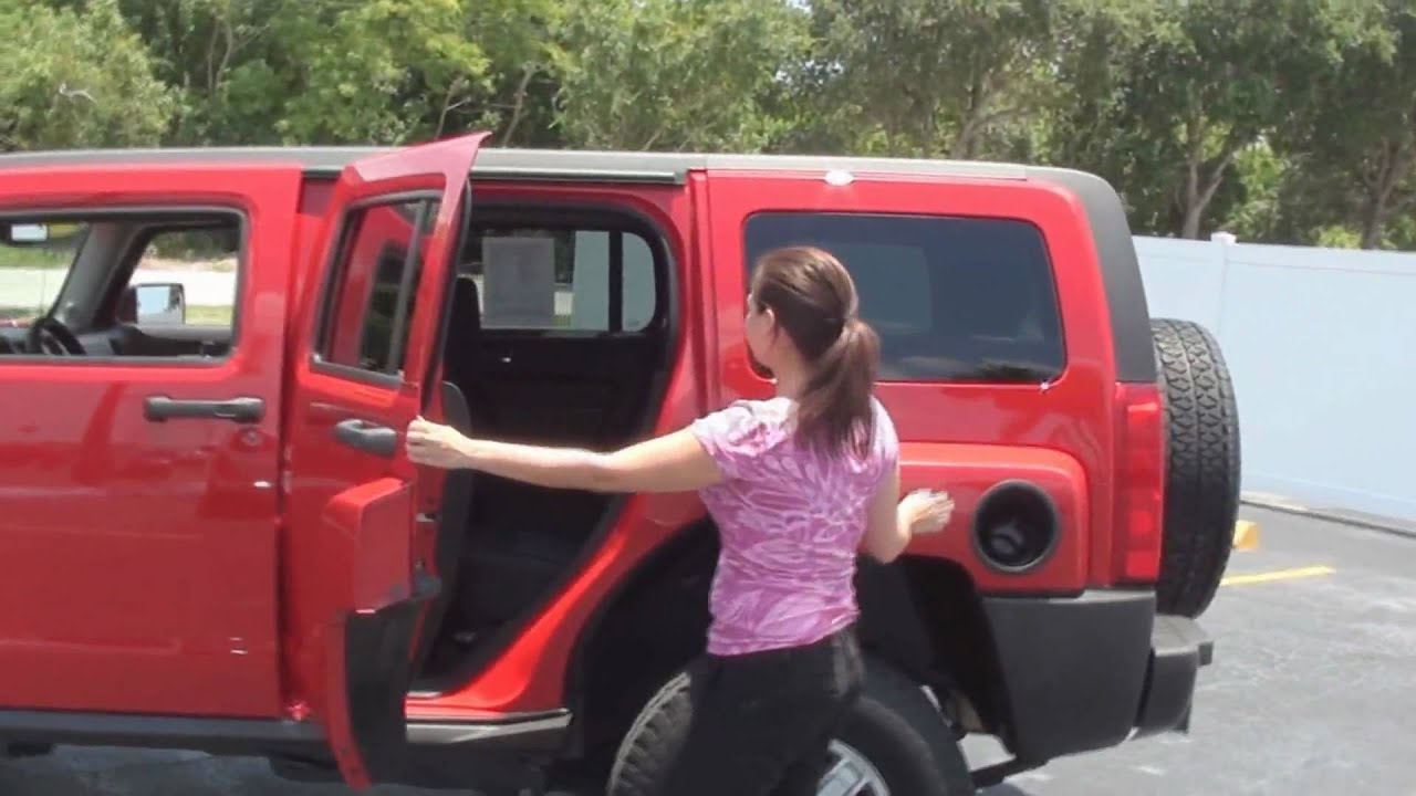 Used 2009 Hummer H3 4X4 For Sale At Park Auto Mall In Pinellas