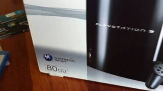 Brand New Playstation 3 80gb Unboxing