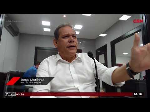 Entrevista CBN Campo Grande: Jorge Martinho, Presidente PSD Três Lagoas
