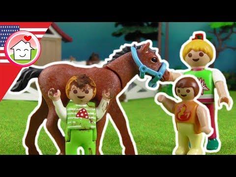 Playmobil film english Horse-riding Tournament - The Hauser Family