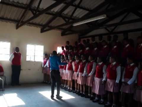 Bhekani Buthelezi @ JG Zuma High School in KwaMashu, South Africa