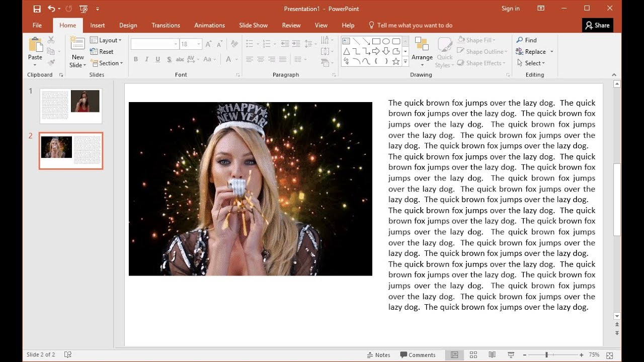how to get a youtube video to play in powerpoint