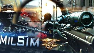 Navy SEAL 'DEVGRU' SNIPER   BF4: MilSim - Hardcore Realism Gameplay [60fps]