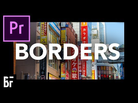 Add a Border to Your Video in Premiere Pro CC