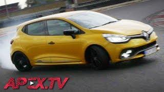 Renault Clio RS Trophy 220 - MAJO BÓNA / APEX.TV [ENG SUB]