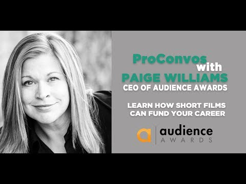 ProConvo: Paige Williams, CEO of Audience Awards presented by Montana Film Office