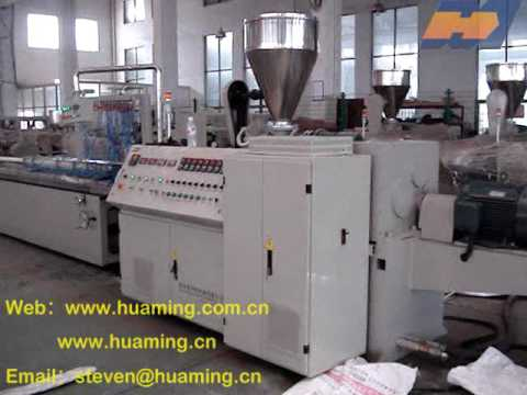 PVC Profile Production Line PVC Window and Door Profile ...