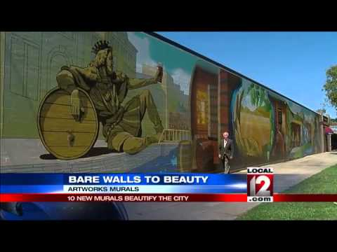 Artworks wraps up 10 new downtown murals