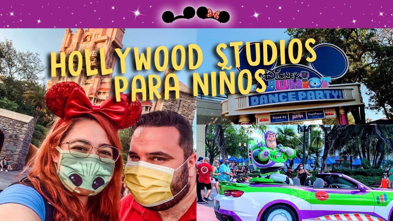 10 Mejores Atracciones de Hollywood Studios Orlando para Niños