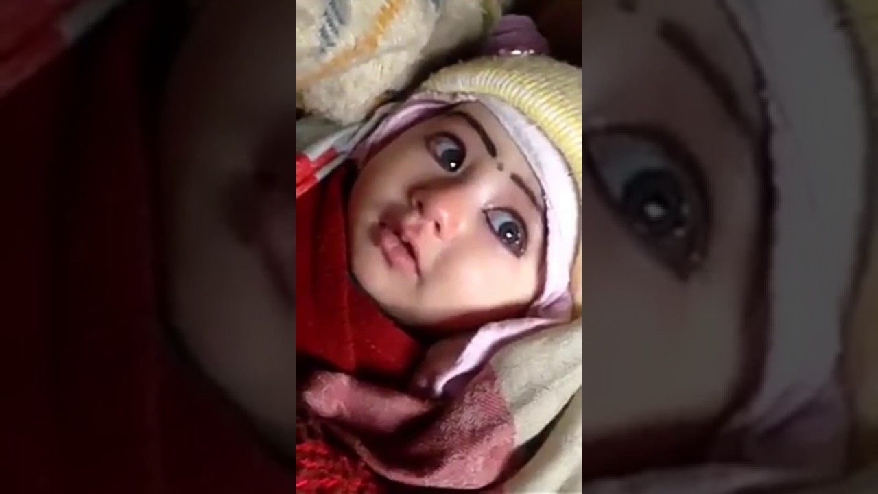 cute baby crying so cute , super expressions and whatsapp status