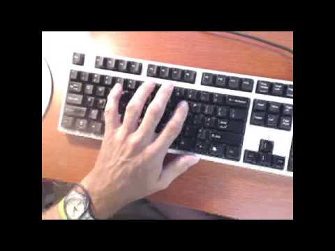 One Handed Typing