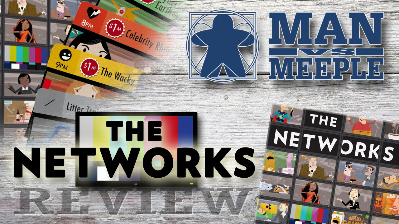 The Networks (Formal Ferret Games) Review by Man Vs Meeple