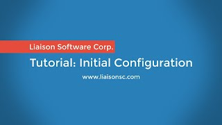 Liaison Messenger EDD Initial Configuration [2/5]