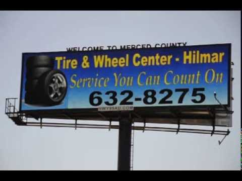 Merced Publicity Group Billboard - adVISION LED freeway billboard