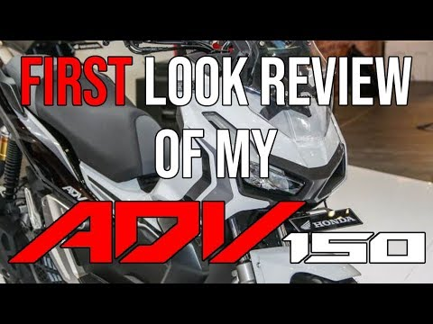 FIRST LOOK REVIEW HONDA ADV 150 | BISAYA MOTOVLOG | 29