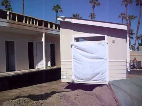 Sahara Mobile Home Park-Palm Springs -Delivery+Set Up New Home 9.20.13 008 Ken Bertwell