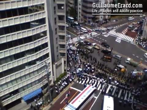 Japanese right-wing protests over the Kuril Islands - 北方領土問題
