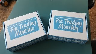 Pin Trading Monthly May Box- Signature and Deluxe boxes- Disney Pins