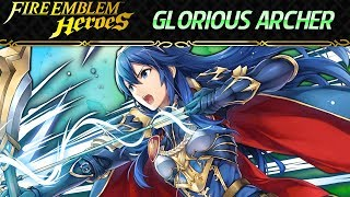 Fire Emblem Heroes - Lucina: Glorious Archer INFERNAL+Lunatic F2P No SI + Extra Solutions