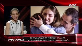 &quotMaduro ni siquiera puede salir a la calle en paz&quot Fabiana Rosales se refiere a cr ...