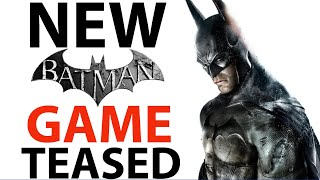 NEW Batman Game TEASED! | New Villains | New Symbols | Reveal Coming Soon?