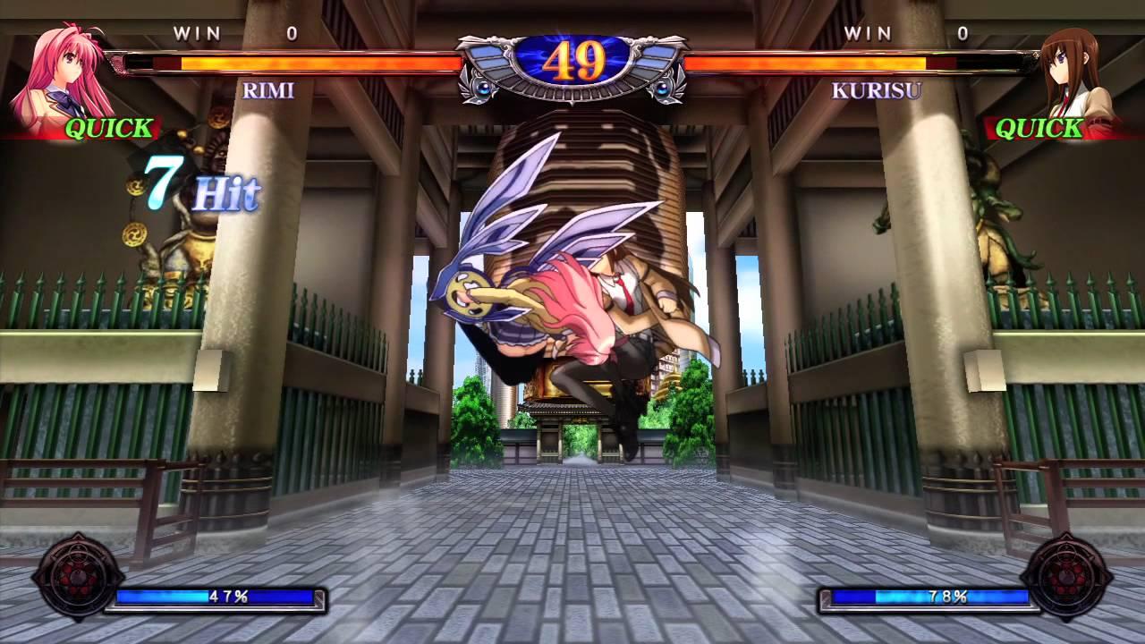Phantom Breaker Rimi Vs Kurisu Game Coming Soon To