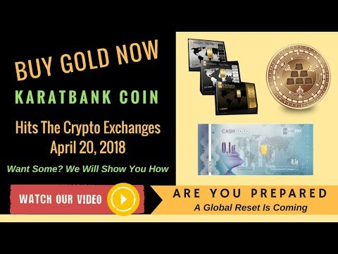 #Karatbank Coin Hits The Crypto Exchanges, April 20, 2018