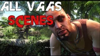 Far Cry 3 - All Vaas Scenes/Dialogue(All cutscenes involving Vaas Montenegro. Since Vaas is such a cool character I feel like I had to make this. Hopefully I didn't miss any scenes... Enjoy!, 2012-12-06T19:03:02.000Z)