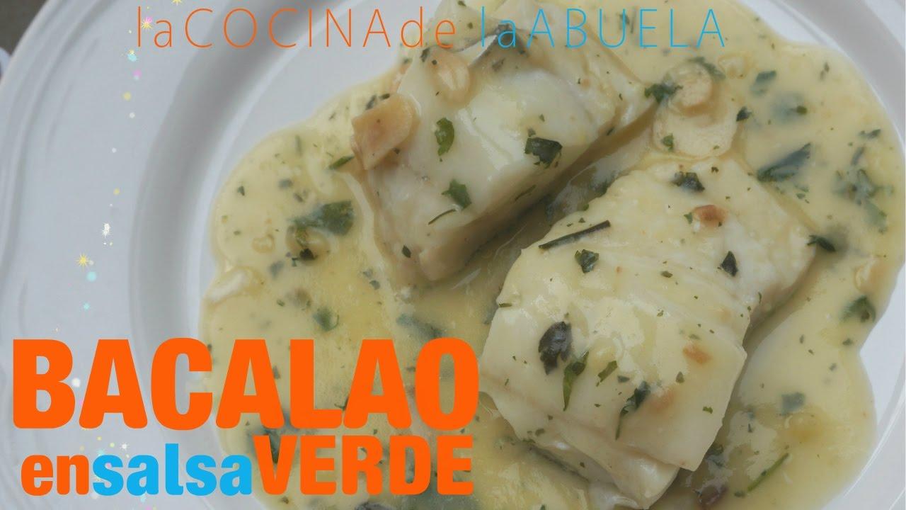 Bacalao En Salsa Verde La Cocina De La Abuela