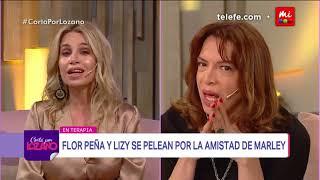 La pelea entre Lizy y Flor Peña por la amistad de Marley - Cortá por Lozano