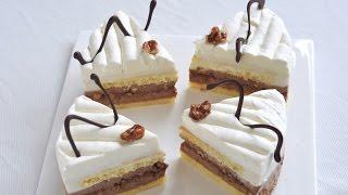 焦糖核桃椰奶慕斯蛋糕--Freesiaa Made第48集