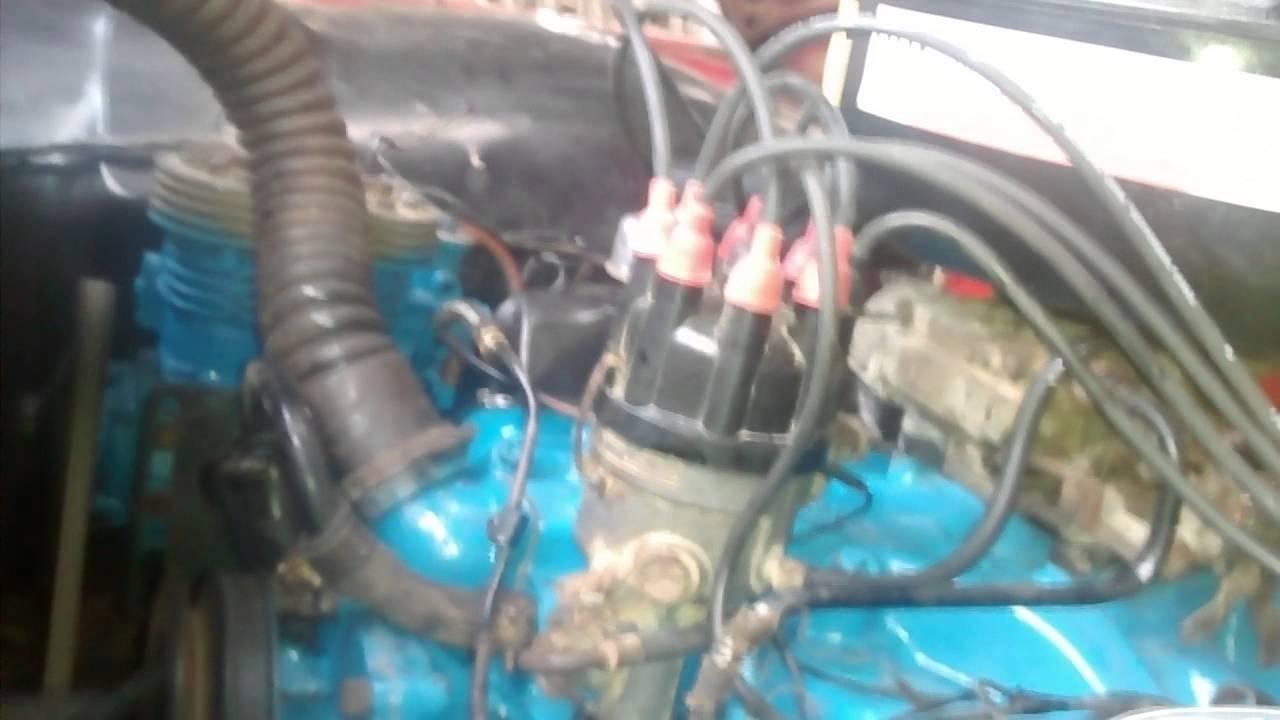 Motor Ford 391 1966