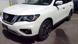 2018 Nissan Pathfinder Platinum 4x4 In Depth Walk Around Review
