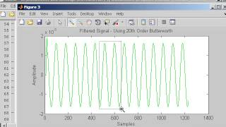 filtering in matlab using