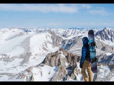 A Long Way From Home - A Snowboard Descent of Mount Whitney