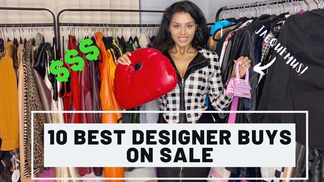 10 designer buys