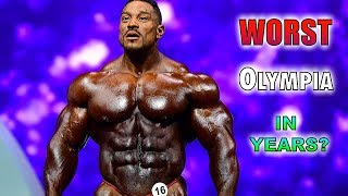 Biggest Disappointments of the 2019 Mr Olympia
