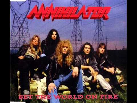 ANNIHILATOR  Set the World on Fire FULL SINGLE 1993