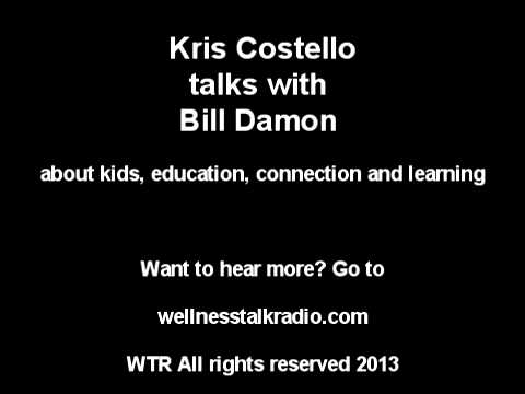 Listen to Bill Damon if you have a teenager or young person and you want to help them succeed.