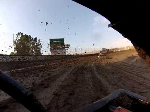 Santa Maria Speedway Austin Ruskauff Hobby Stock #88R Heat Race View #2 7/20/13