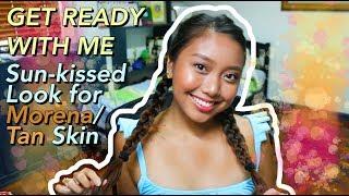 Sun-kissed Makeup Look for Morena Tan Skin (Philippines) Ayn Bernos