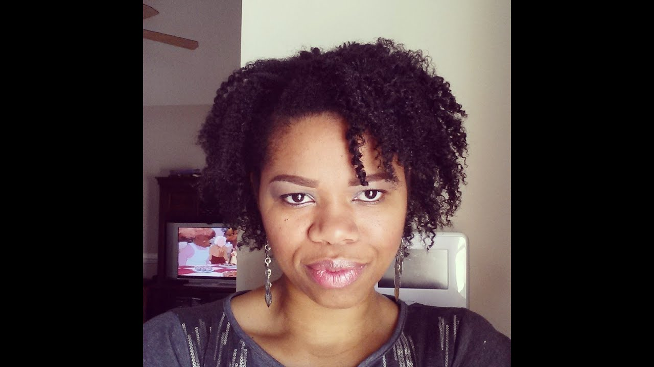4C Natural Hair: Twist Out ( Short, Fine)