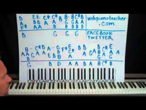 Piano Lesson Fairytale Of New York Shawn Cheek Tutorial