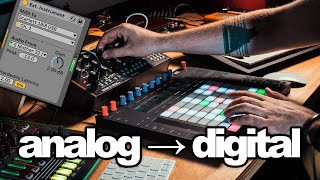 Analog Synths with Ableton Push | Set Up & Creative Ideas